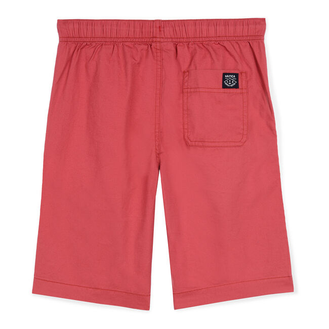 Little Boys' Koloa Woven Short (4-7),Deep Fuschia,large