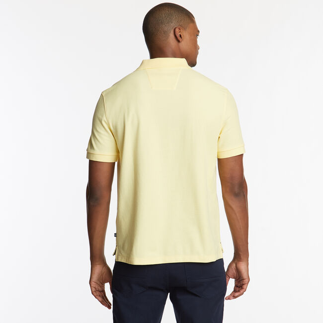 CLASSIC FIT PERFORMANCE DECK POLO,Corn,large