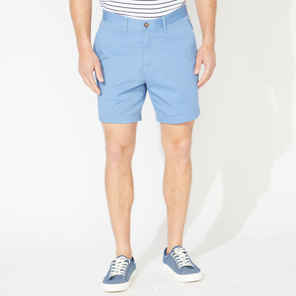 "6"" CLASSIC FIT DECK SHORTS WITH STRETCH - Rolling River Wash"