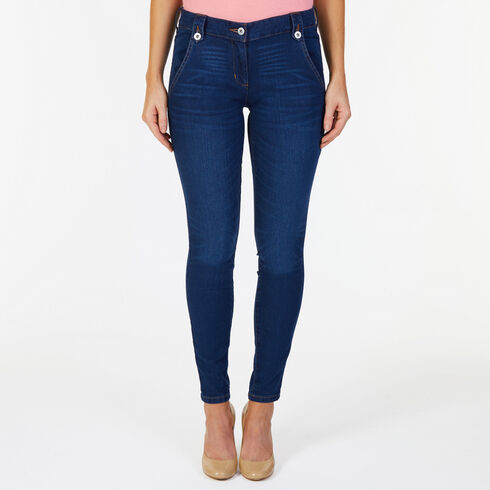 5-Pocket Skinny Jeans - Atlantic Light Wash Outle