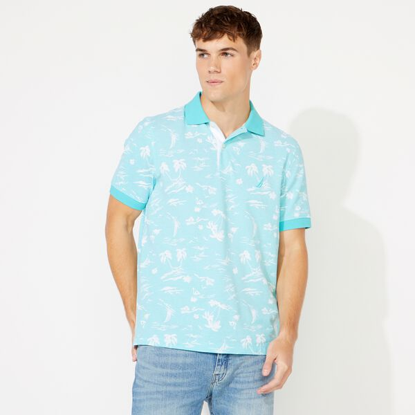 CLASSIC FIT PRINTED POLO - Bali Bliss