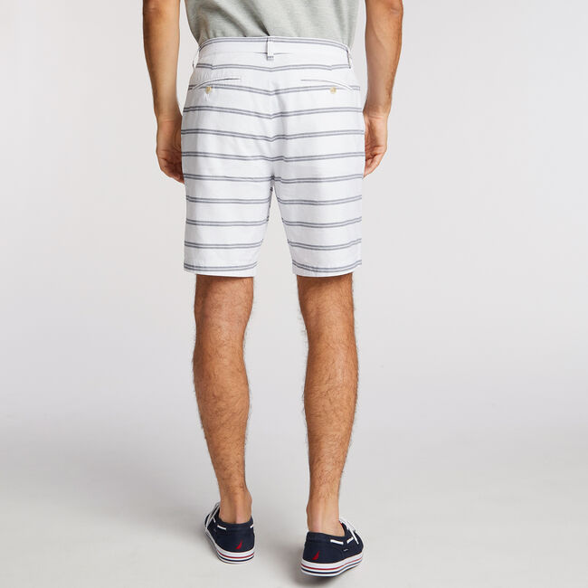 CLASSIC FIT STRETCH COTTON WALKING SHORT,Bright White,large