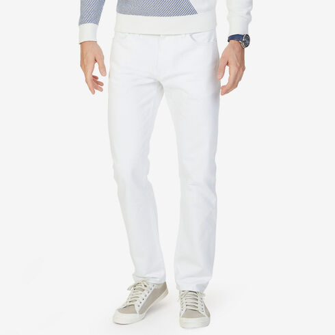 Athletic Fit Frost White Wash Jeans - Sea Medium Wash