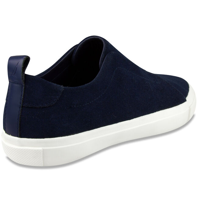 Daly Slip-On Sneakers - Blue Suede,Nite Sea Heather,large