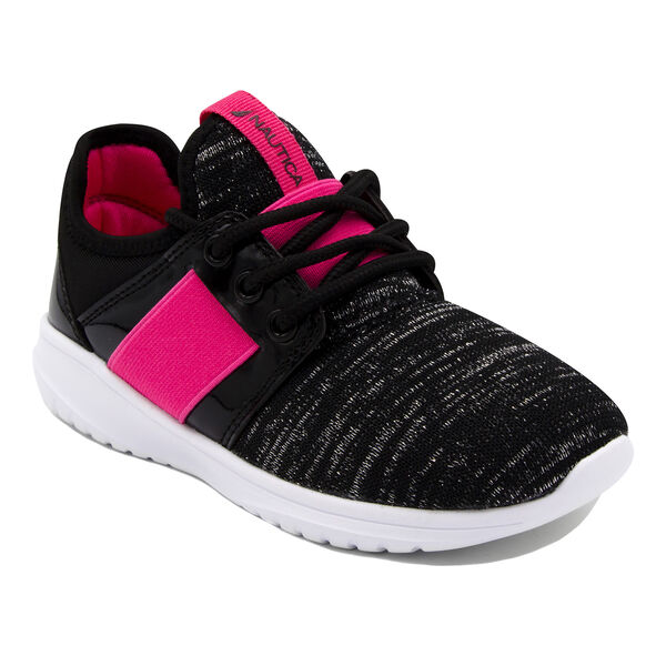 GIRL'S COMFY ALL DAY SNEAKER - Black