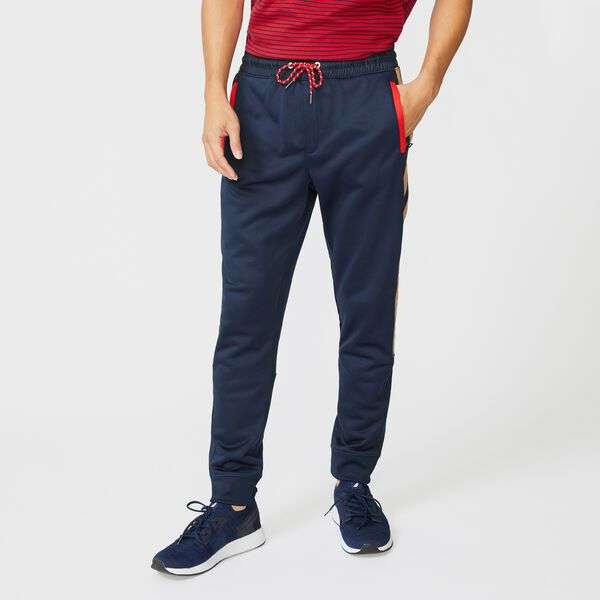 BIG & TALL COLORBLOCK SIDE PANEL JOGGER - Navy