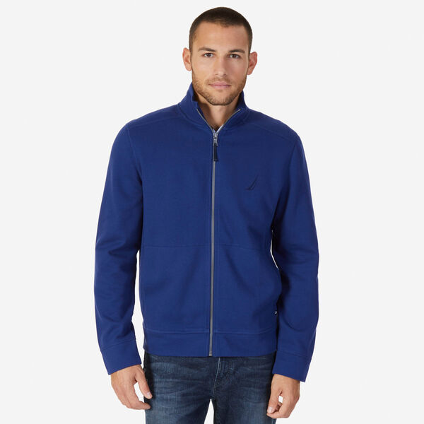 Big & Tall Full-Zip J-Class Fleece Jacket - J Navy