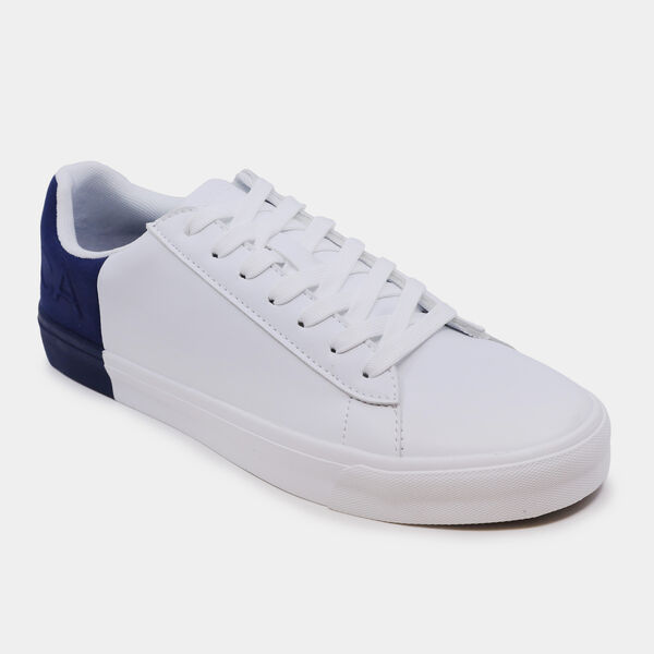 TWO-TONE LOGO SNEAKER - Navy