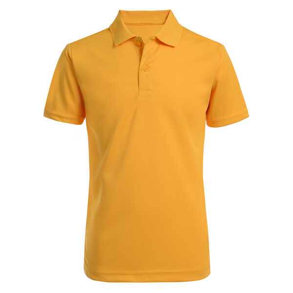LITTLE BOYS' COTTON PERFORMANCE POLO (4-7) - Lemon Drop
