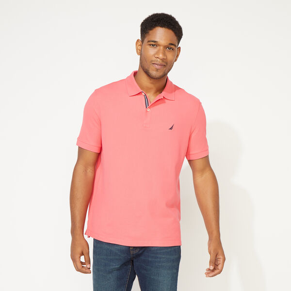 CLASSIC FIT DECK POLO - Persian Red