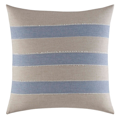 Abbot Heathered Throw Pillow - Military Tan