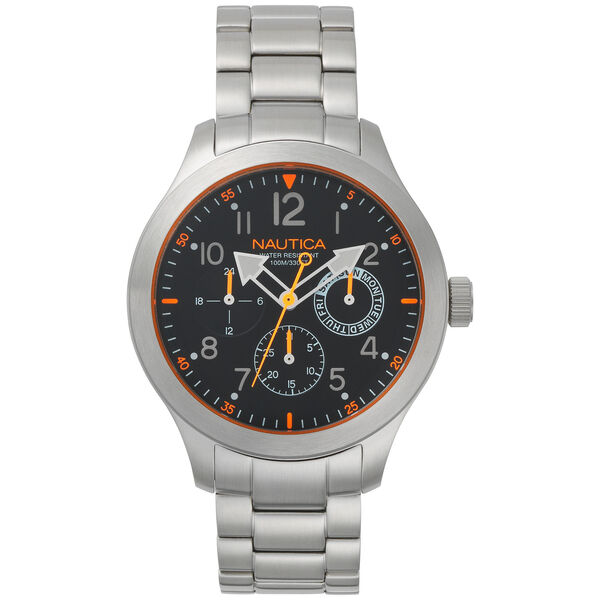 Norland Multifunction Stainless Steel Watch - Multi