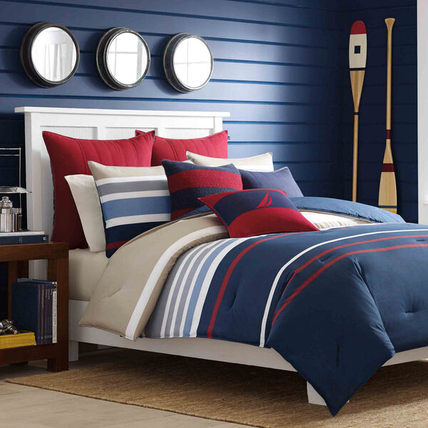 Bradford Duvet Set - Pure Dark Pacific Wash