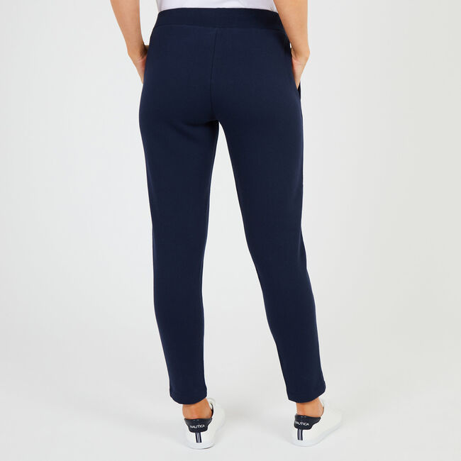 Straight Leg Signature Active Pants,Deep Sea,large