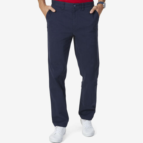 Stretch Twill Classic Fit Performance Deck Pants - True Navy