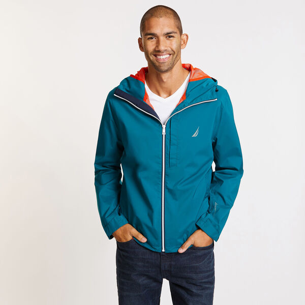 Discovery Rainbreaker Jacket - Shaded Spruce