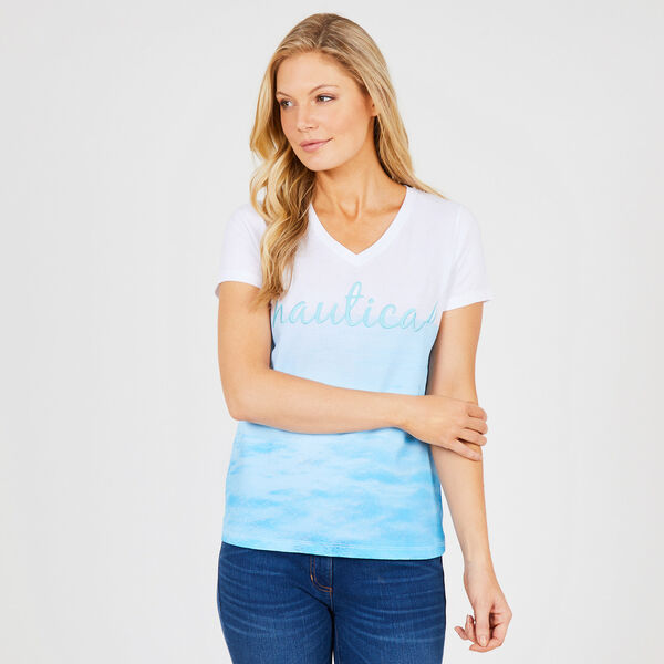 Signature Horizon T-Shirt - Bright White