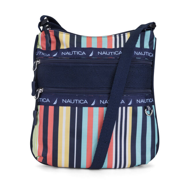 Captain's Quarters Crossbody,Multi,large