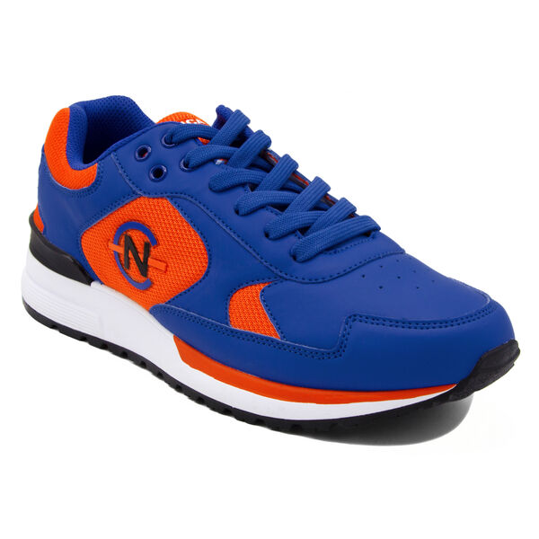 NAUTICA COMPETITION DEL RIO LOW TOP IN NAVY MULTI - Cool Breeze
