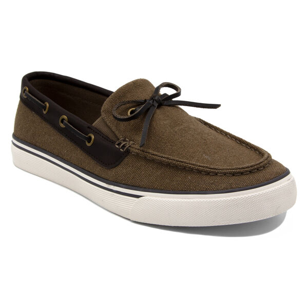 Baisden Boat Shoe in Dark Khaki - Khaki