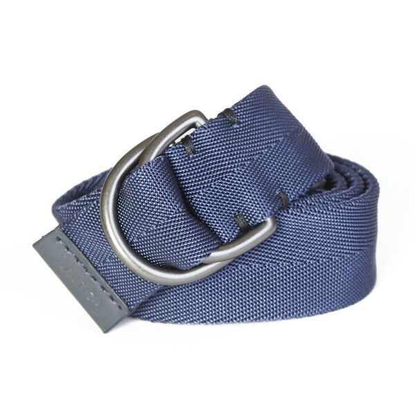 D-Ring Webbed Belt - Ice Blue