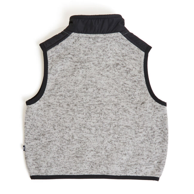 Toddler Boys' Jaxon Nautex Fleece Sweater Vest (2T-4T),Grey Heather,large
