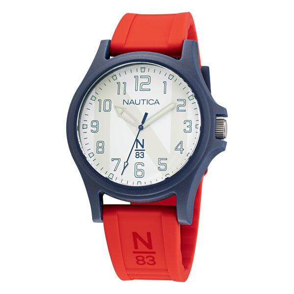 JAVA SEA SILICONE 3-HAND WATCH - Multi