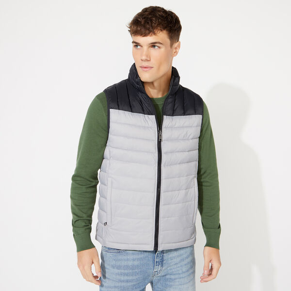 LIGHTWEIGHT REVERSIBLE VEST WITH TEMPASPHERE - Grey Alloy
