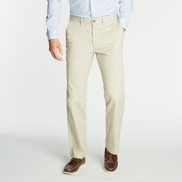 CLASSIC FIT WRINKLE-RESISTANT DECK PANT - True Stone