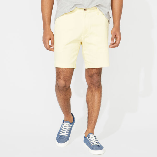 "8.5"" CLASSIC FIT DECK SHORTS - French Vanilla"