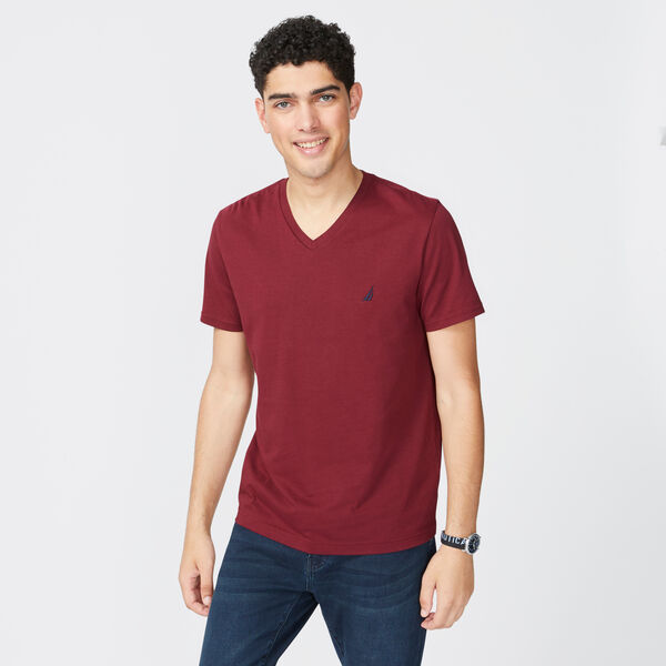 PREMIUM COTTON SOLID T-SHIRT - Zinfandel