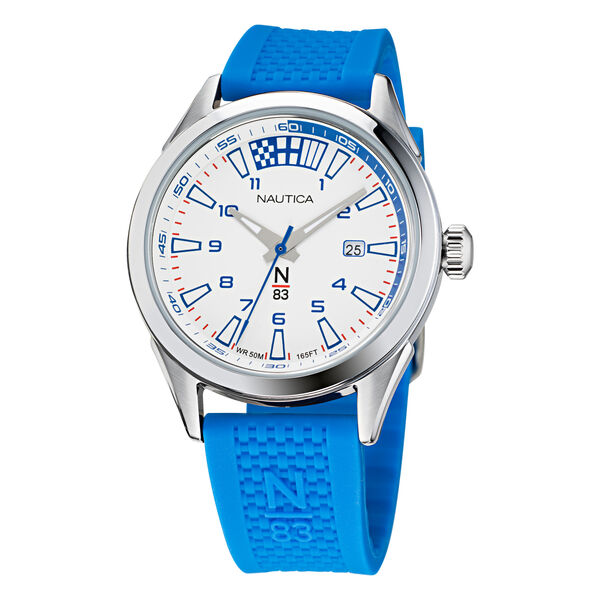 HANNAY BAY TEXTURED SILICONE 3-HAND WATCH - Multi