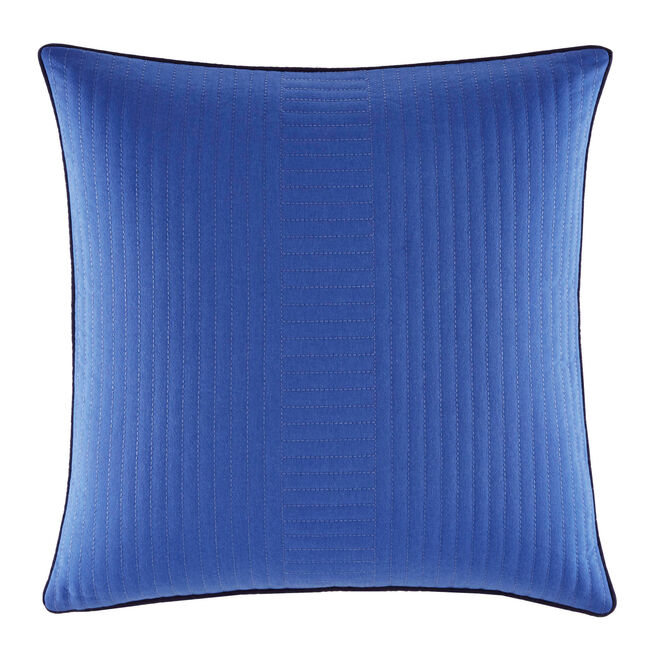 Eldridge Quilted Square Throw Pillow,Cadet Heather,large