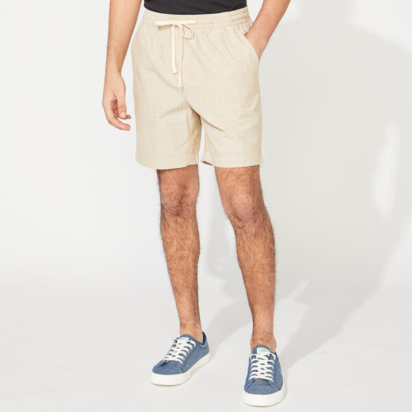 "7"" CHAMBRAY BOARDWALK SHORT - Military Tan"