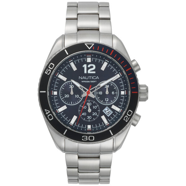 Key Biscayne 3-Hand Watch - Stainless Steel  - Multi