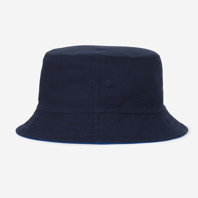 The Lil Yachty Collection by Nautica Reversible Bucket Hat,Monaco Blue,large