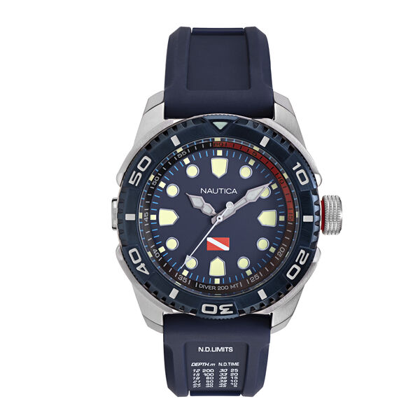 TARPOON BLUE DIAL SPORT WATCH - Multi