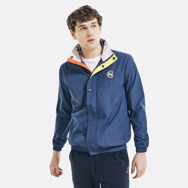 COMPETITION LOGO GRAPHIC JACKET - Navy