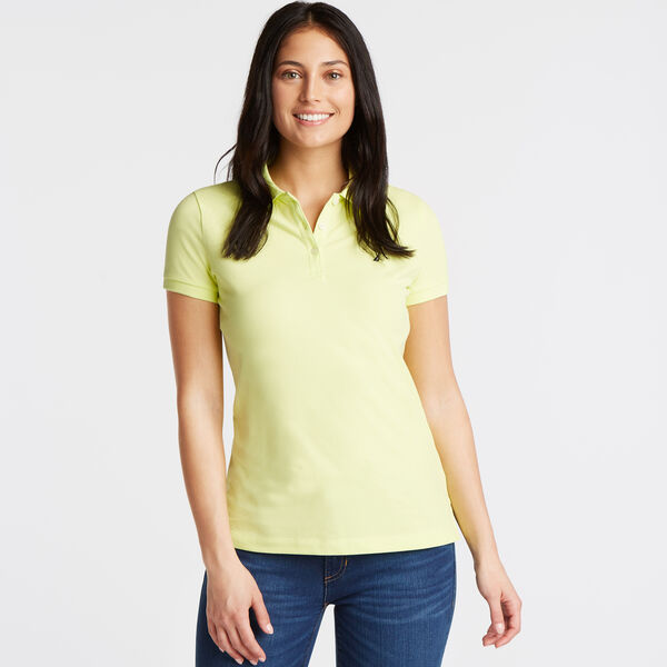 Short Sleeve Classic Fit Anchor Polo - Light Olive