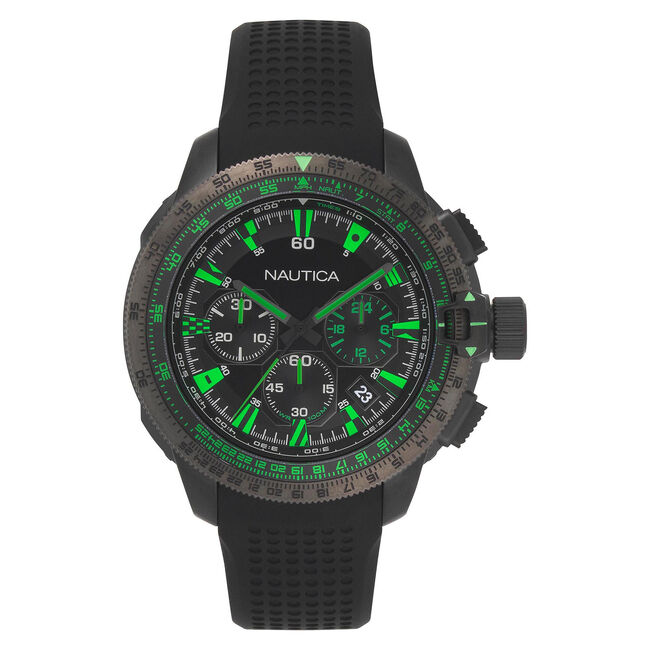 Mission Bay Chronograph Watch with Sport Strap,Multi,large