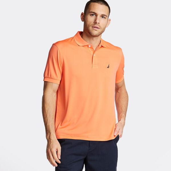 5892e9ec34a7 Short Sleeve Classic Fit Performance Polo - Vibe Orange