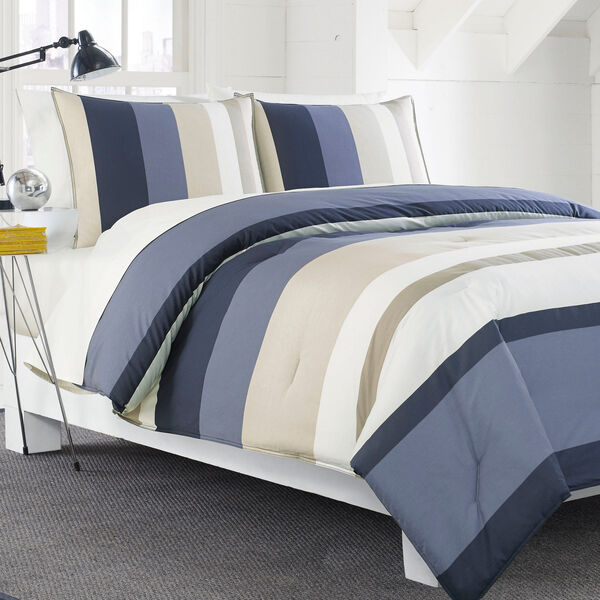 Grand Bank Comforter Set - Oat