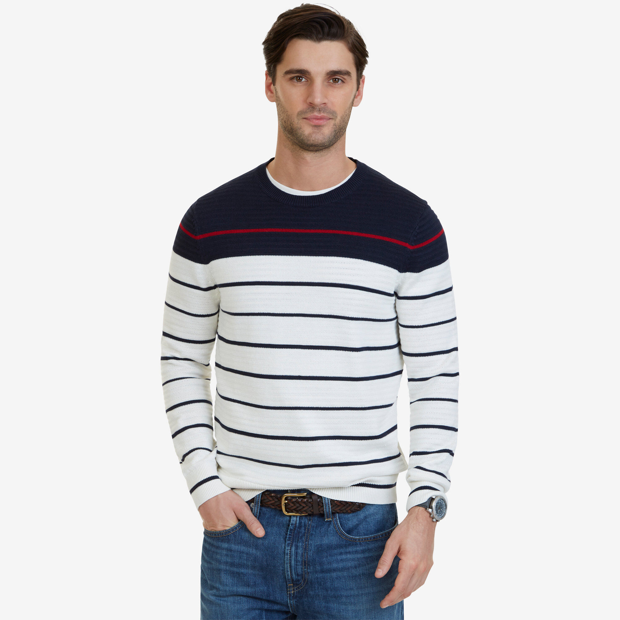 Striped Sweater Nautica