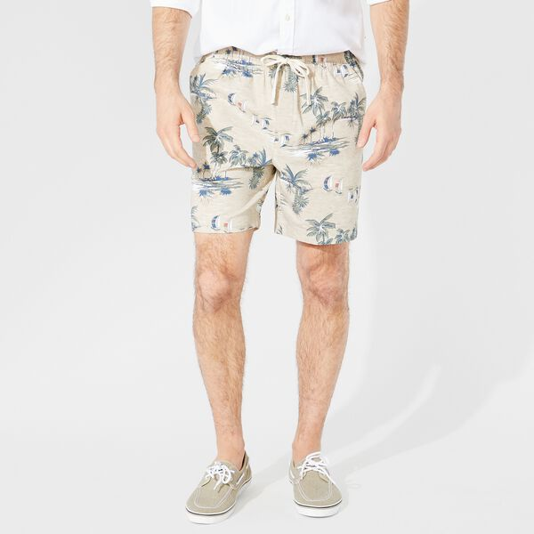 "7"" ISLAND PRINT BOARDWALK SHORTS - Sandcove"