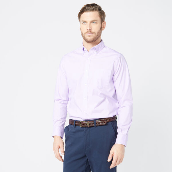 CLASSIC FIT WRINKLE-RESISTANT SOLID SHIRT - Lavendula