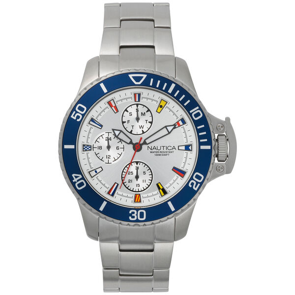 Bayside Multifunction Stainless Steel Watch - Multi