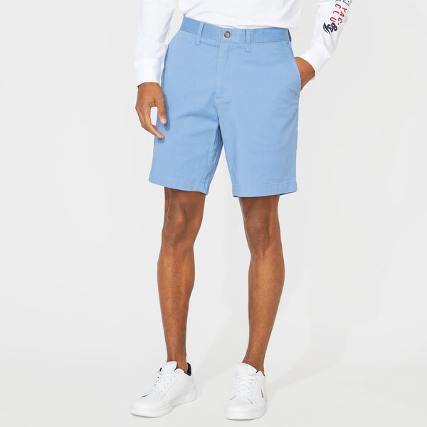 "8.5"" CLASSIC FIT DECK SHORTS WITH STRETCH - Rolling River Wash"