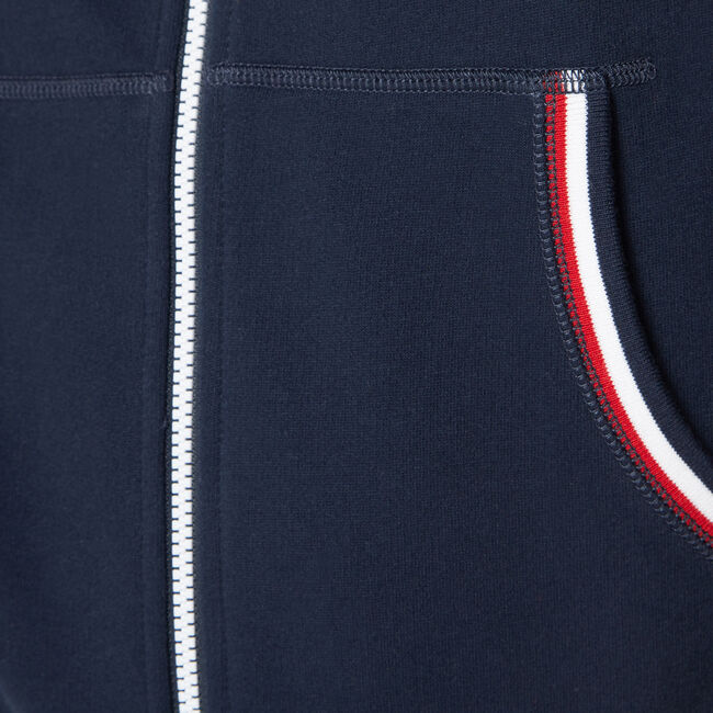 NAUTICA JEANS CO. COLORBLOCK HOODIE,Pure Dark Pacific Wash,large