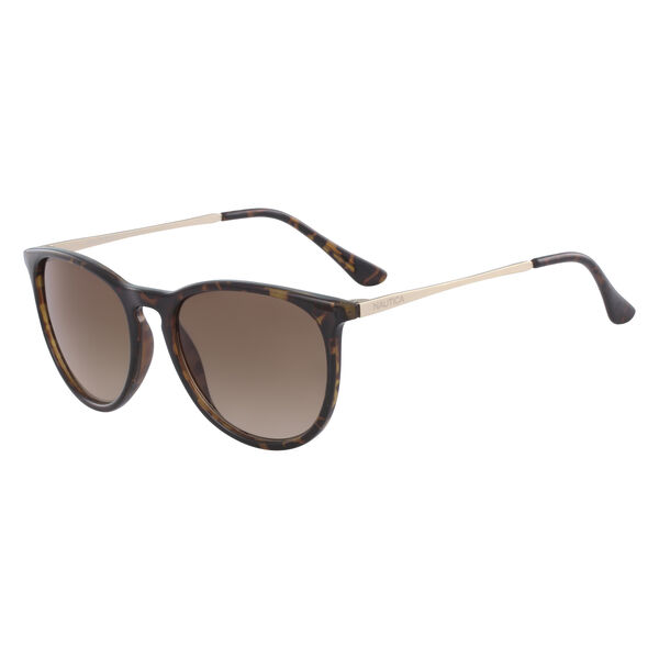 RETRO ROUND SUNGLASSES - Cream