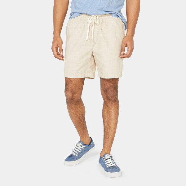 "7"" CLASSIC FIT BOARDWALK SHORT - Military Tan"